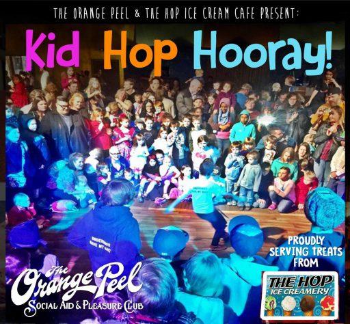 Diaper Drive at Kid Hop Hooray