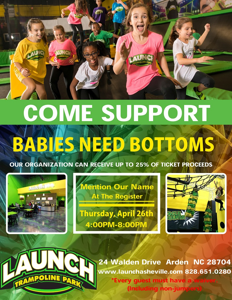 Launch Trampoline Park Fundraiser