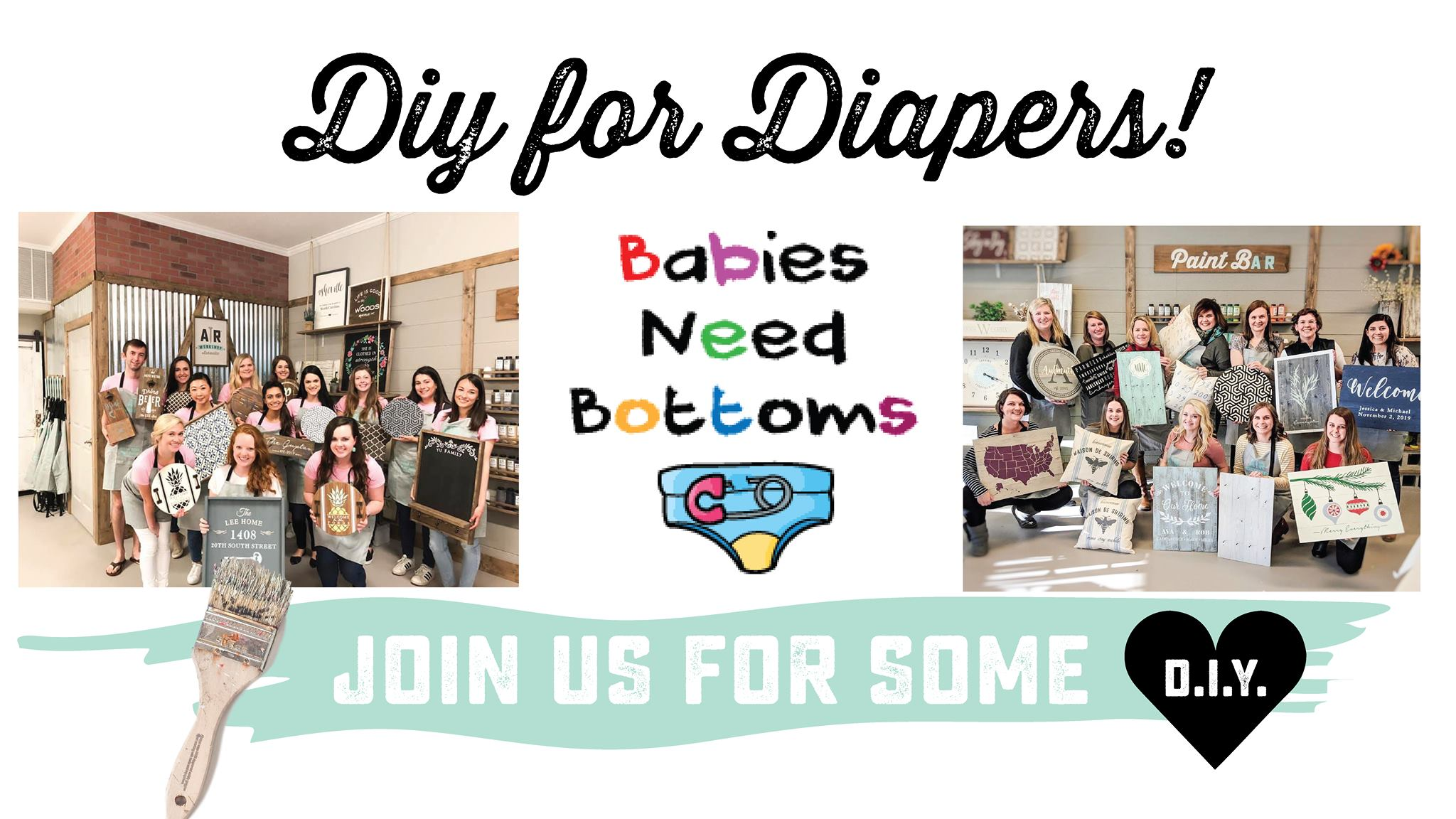 AR Workshop DIY for Diapers