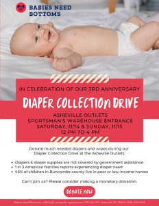 Diaper Collection Drive