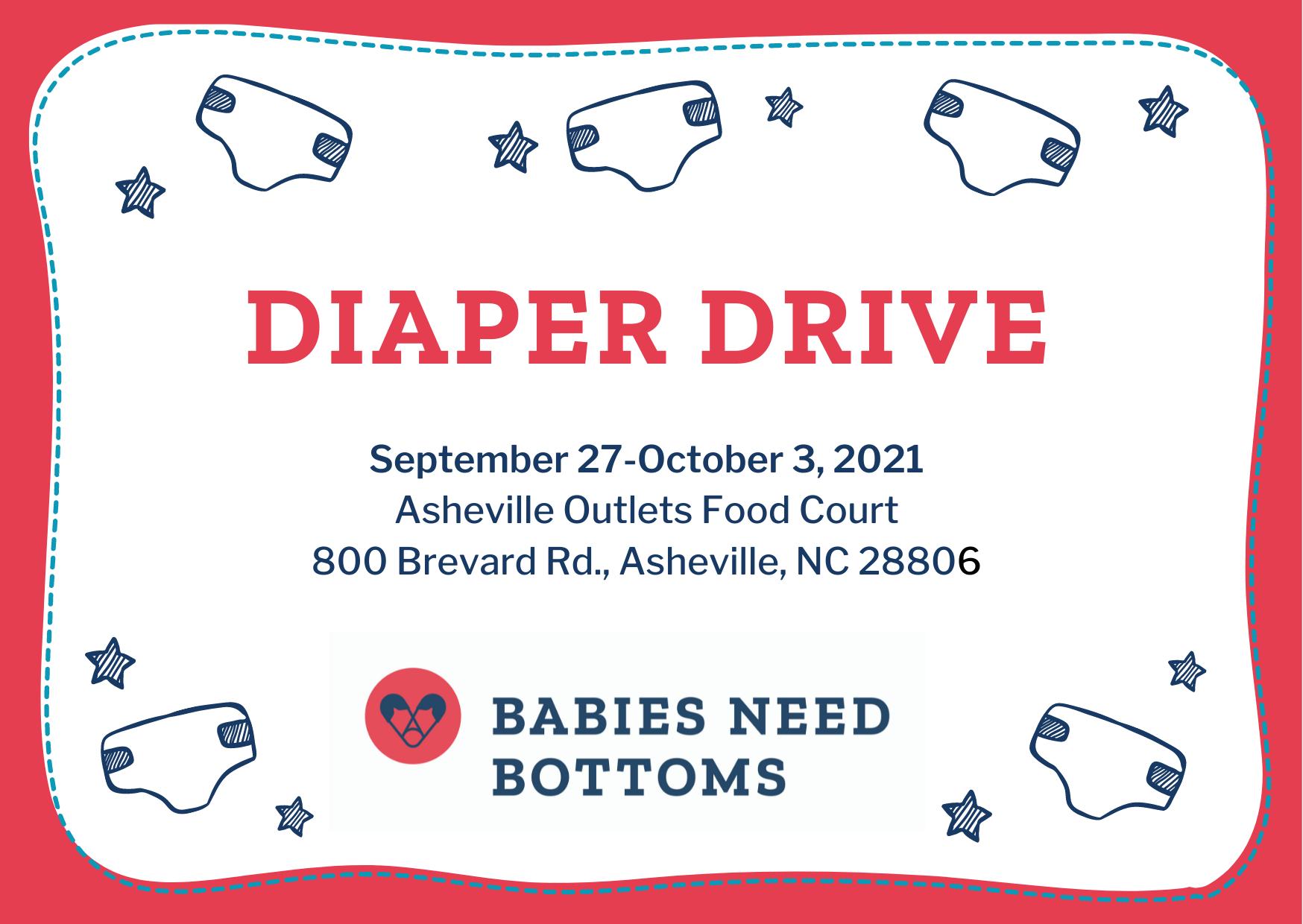 Diaper Drive Announcement